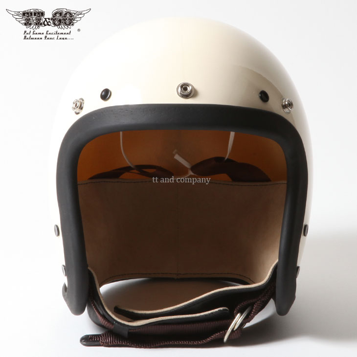 Vol:4 / TROPHY LIMITED MODEL Tourist Trophy Helmet Natural