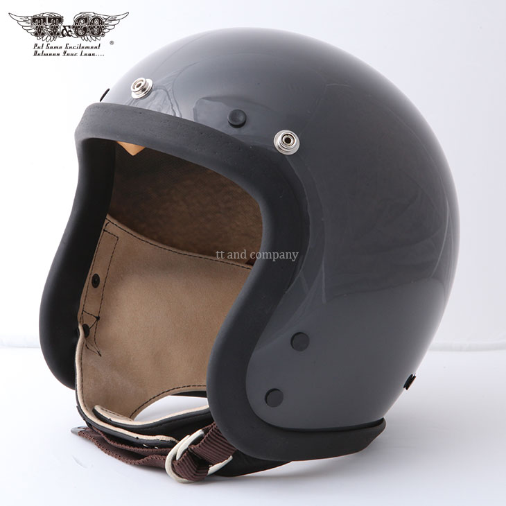 Vol:4 / TROPHY LIMITED MODEL Tourist Trophy Helmet Charcoal
