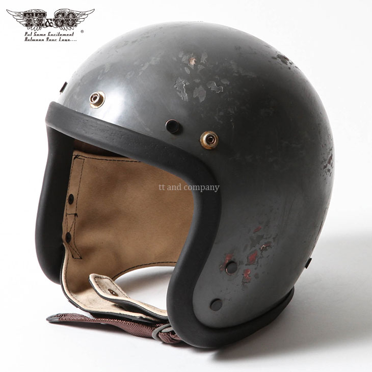 Vol:4 / TROPHY LIMITED MODEL Tourist Trophy Helmet Hard Relic Charcoal